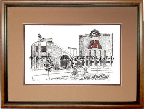 TCF Bank Stadium, Framed