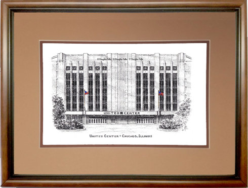 United Center, Framed