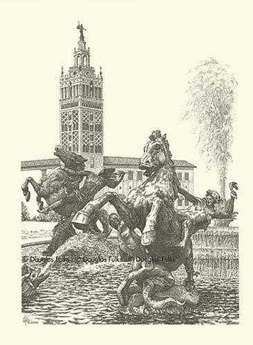 Plaza #14, Print