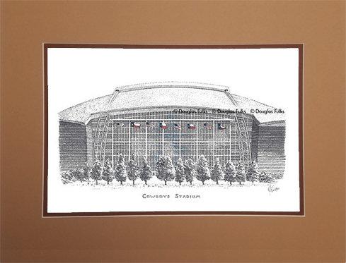 Cowboys Stadium, Matted