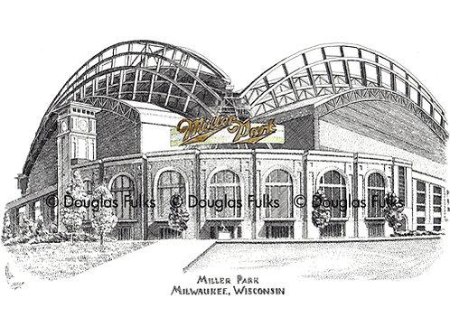 Miller Park, Print