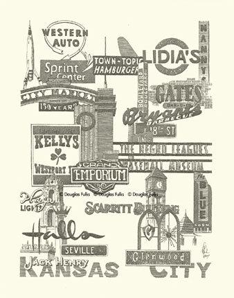 Kansas City Panoply #1, Print