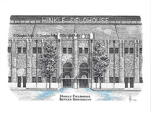 Hinkle Fieldhouse, Print