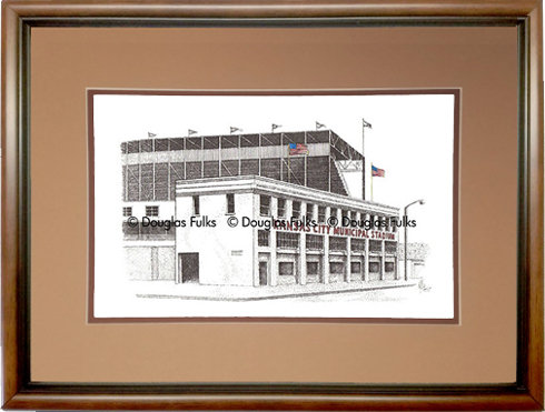 Municipal Stadium, Framed
