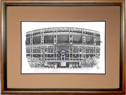 Progressive Field, Framed