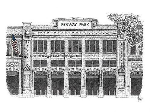 Fenway Park, Print