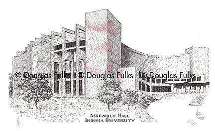 Assembly Hall, Print