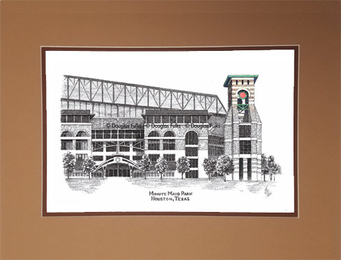 Minute Maid Park, Matted