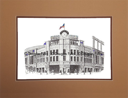 Coors Field, Matted