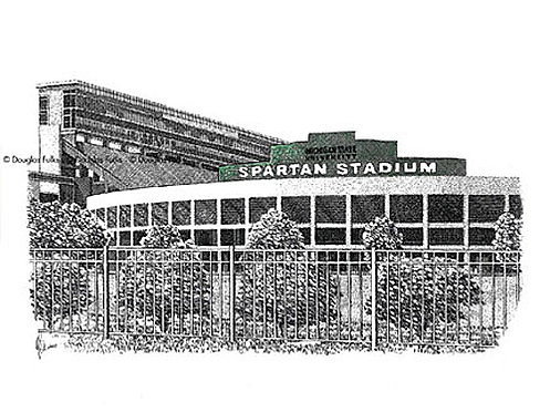 Spartan Stadium, Print