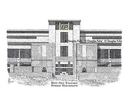 Ross Ade Stadium, Print