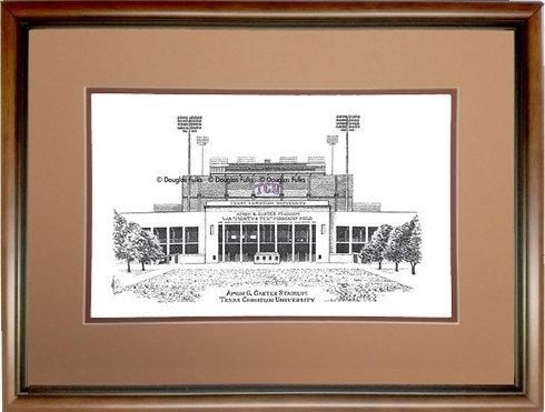 Amon G Carter Stadium, Framed