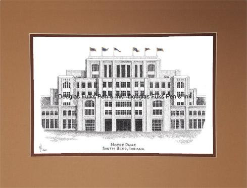 Notre Dame Stadium (new), matted
