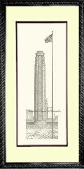 Liberty Memorial, Framed