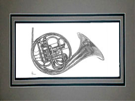 French Horn, Matted