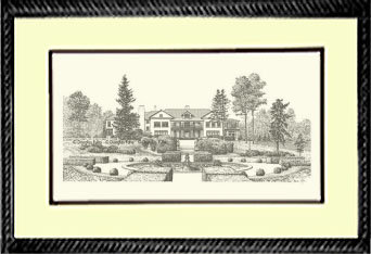 Longview Mansion, Framed