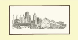 Urban KC Skyline, Matted