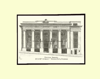 Central Library, Matted