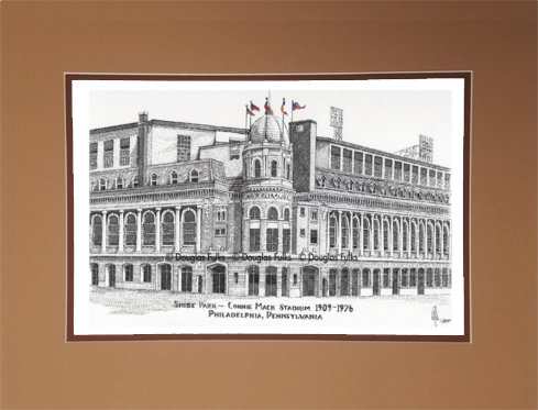 Connie Mack Stadium, Matted