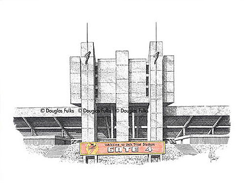 Jack Trice Stadium, Print