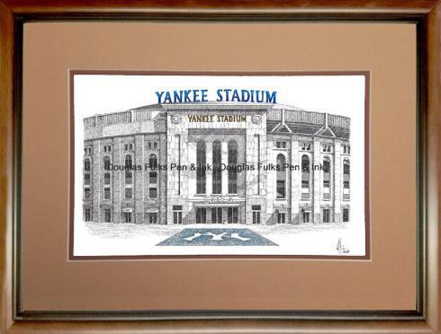 Yankee Stadium (new), framed
