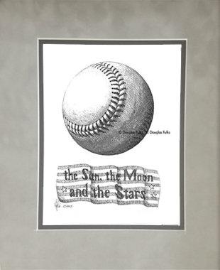 Baseball, Matted