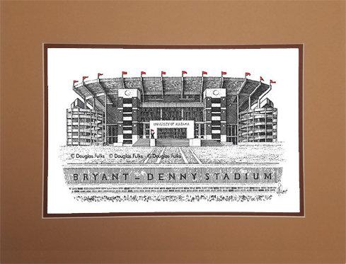 Bryant Denny Stadium, Matted