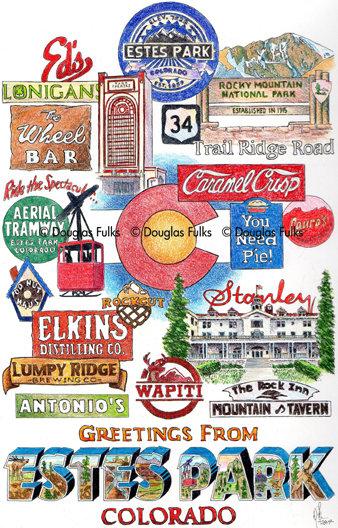 Estes Park, Colorado Print