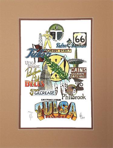 Tulsa, Oklahoma Matted