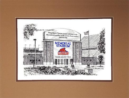 Memorial Stadium - SC, Matted