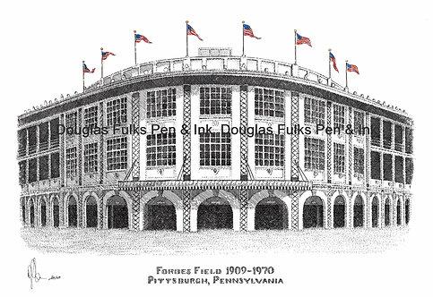 Forbes Field 1909-1970, print