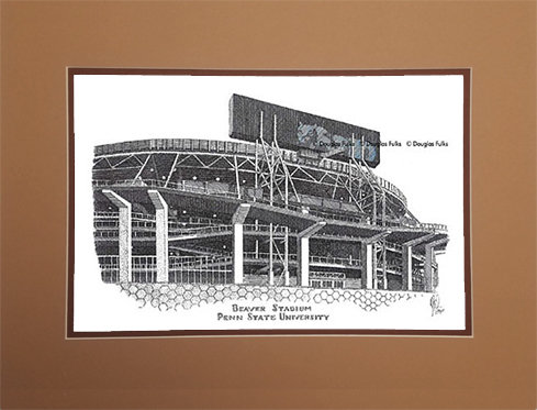 Beaver Stadium, Matted