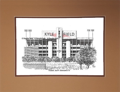 Kyle Field, Matted