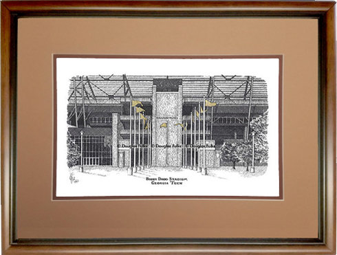 Bobby Dodd Stadium, Framed