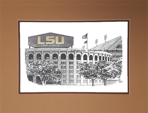 Tiger Stadium, Matted