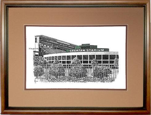 Spartan Stadium, Framed