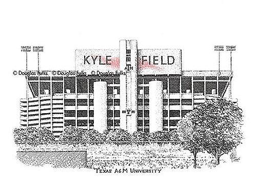 Kyle Field, Print