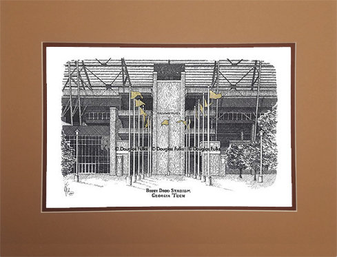 Bobby Dodd Stadium, Matted