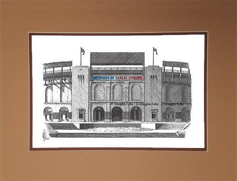 Memorial Stadium - KS, Matted