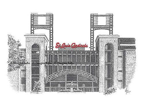 Busch Stadium, Print