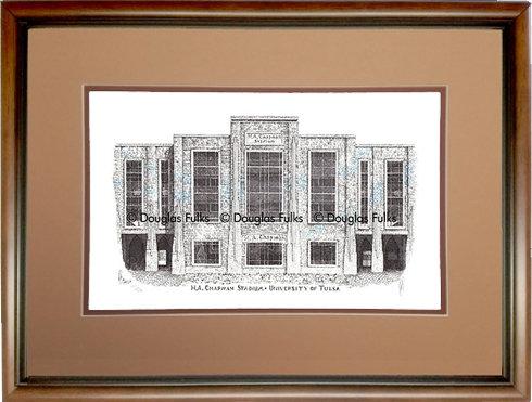 HA Chapman Stadium, Framed
