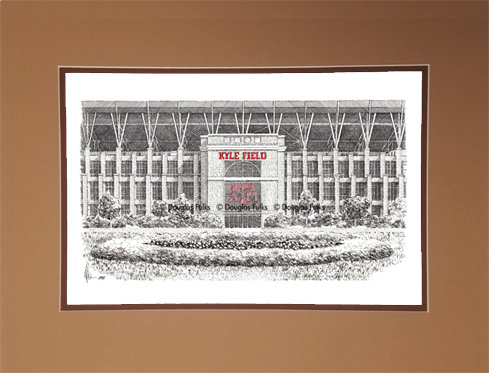 Kyle Field (New), Matted
