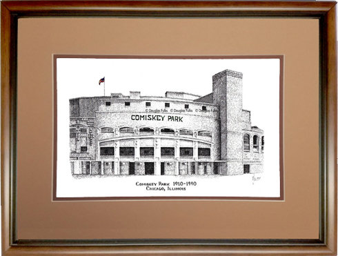 Comiskey Park, Framed
