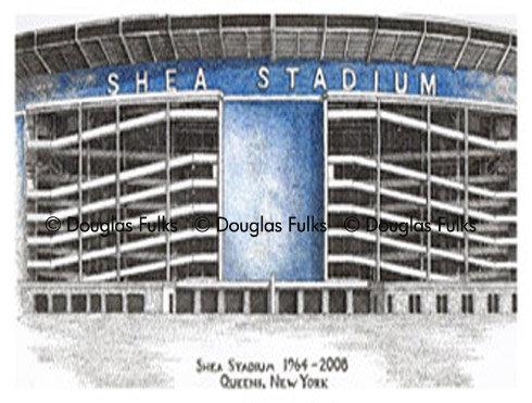 Shea Stadium, Print