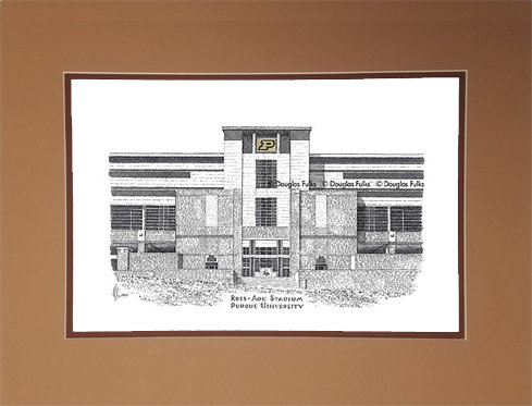 Ross Ade Stadium, Matted