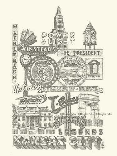 Kansas City Panoply #2, Print