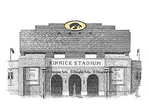 Kinnick Stadium, Print