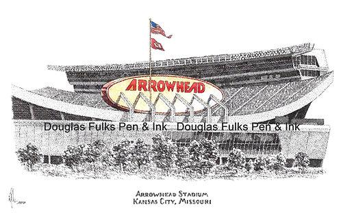 Arrowhead Stadium, Print