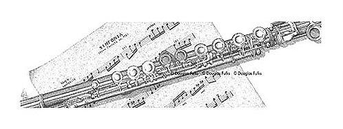 Flute, Print
