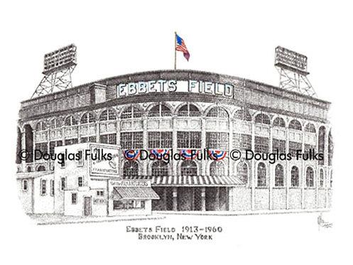 Ebbets Field, Print